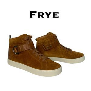Frye Suede High Tops Size 9M NWOT
